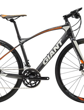 The Giant FastRoad Comax 2 offers a comfortable carbon frame