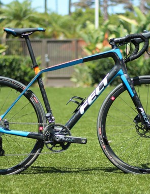 The Felt VR is another adventure bike that comes with super-compact chainsets