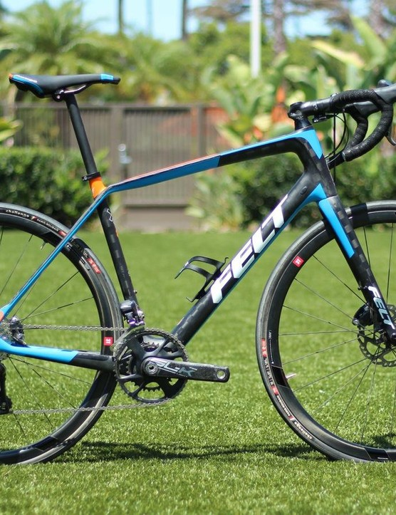 The new Felt VR endurance road bike