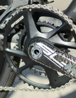 How low can you go? Felt goes with a super-compact 46/30 crankset to scale nearly any pitch
