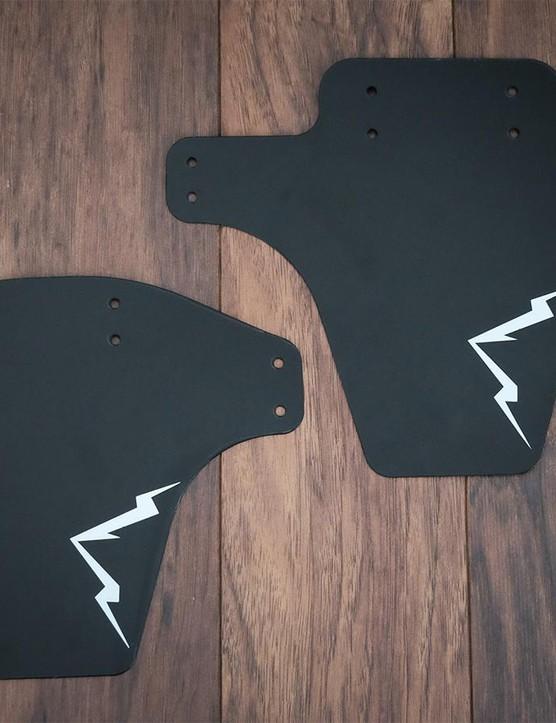 D.Fender makes fenders for standard as well as fat bike forks