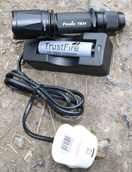 Fenix TK11 bike light
