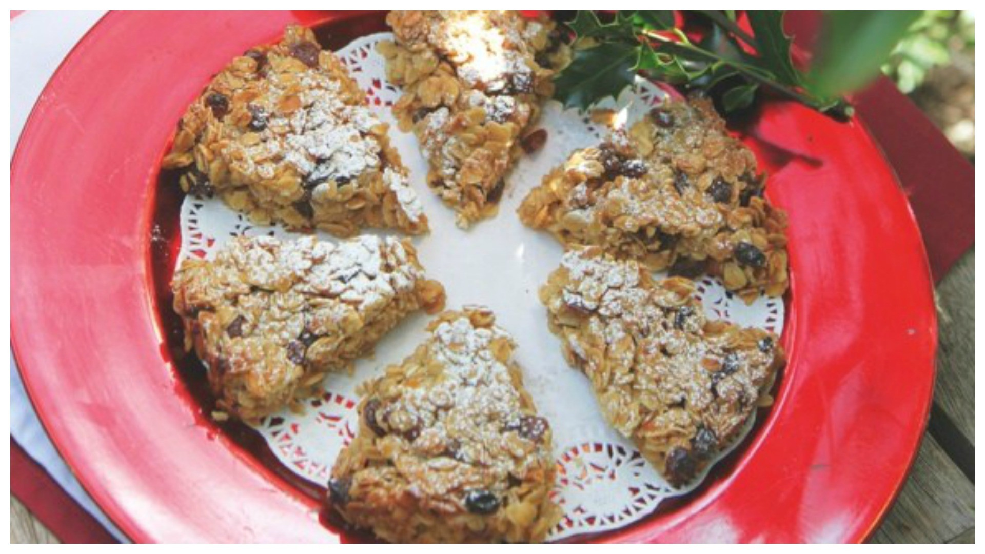 Mincemeat, orange and festive cheer