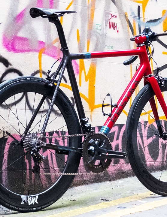 The Festka One is the brand's top-end road bike