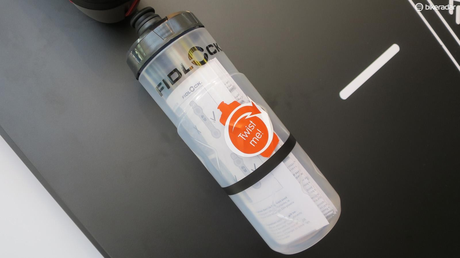 Fidlock's bottle is designed to work with its Twist base unit