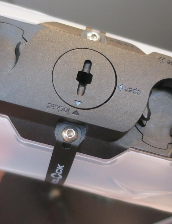 The bottle shares the connector system with the base unit