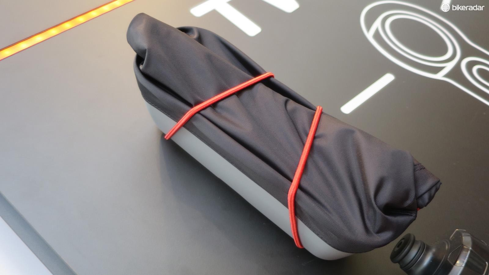 As well as this expandable frame bag, which is aimed at commuters and bike packers