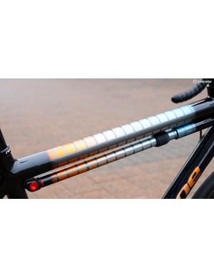 As if the frame wasn't enough, check out the painted-to-match Silca Impero Ultimate frame pump