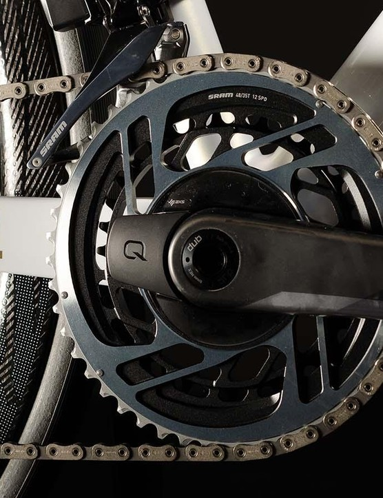 Anthony Joshua's bike comes with SRAM's latest Red Etap AXS groupset