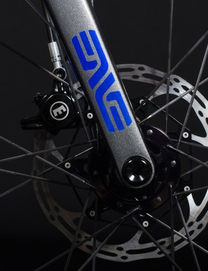ENVE supplied much of the build