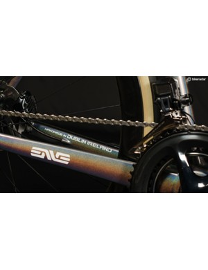 The carbon bikes are built in Ireland