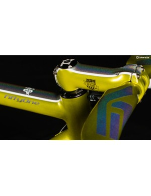 Each of the Enve components on the bike will feature the custom anniversary logo