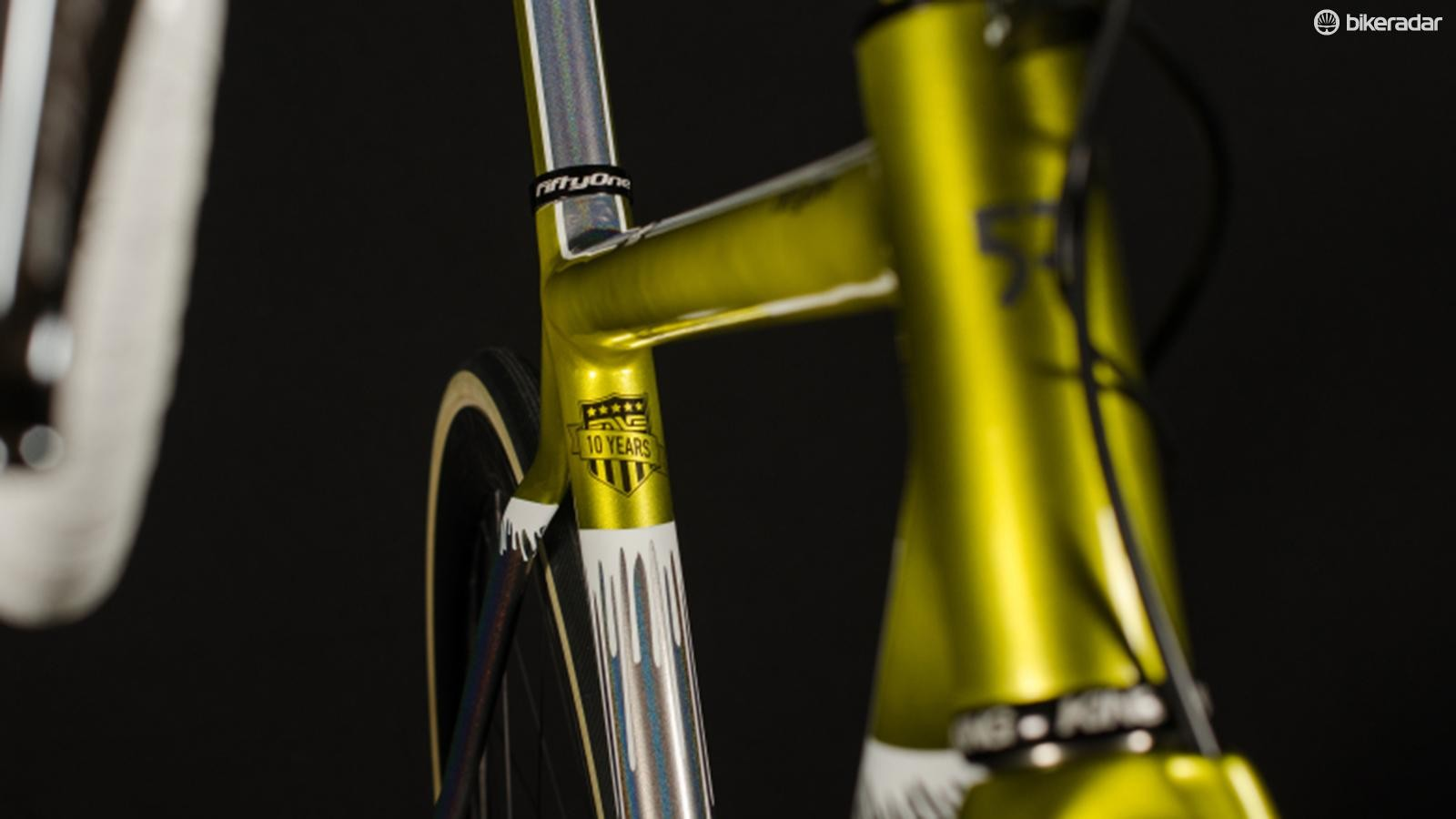 The bike is being launched at the Eurobike show