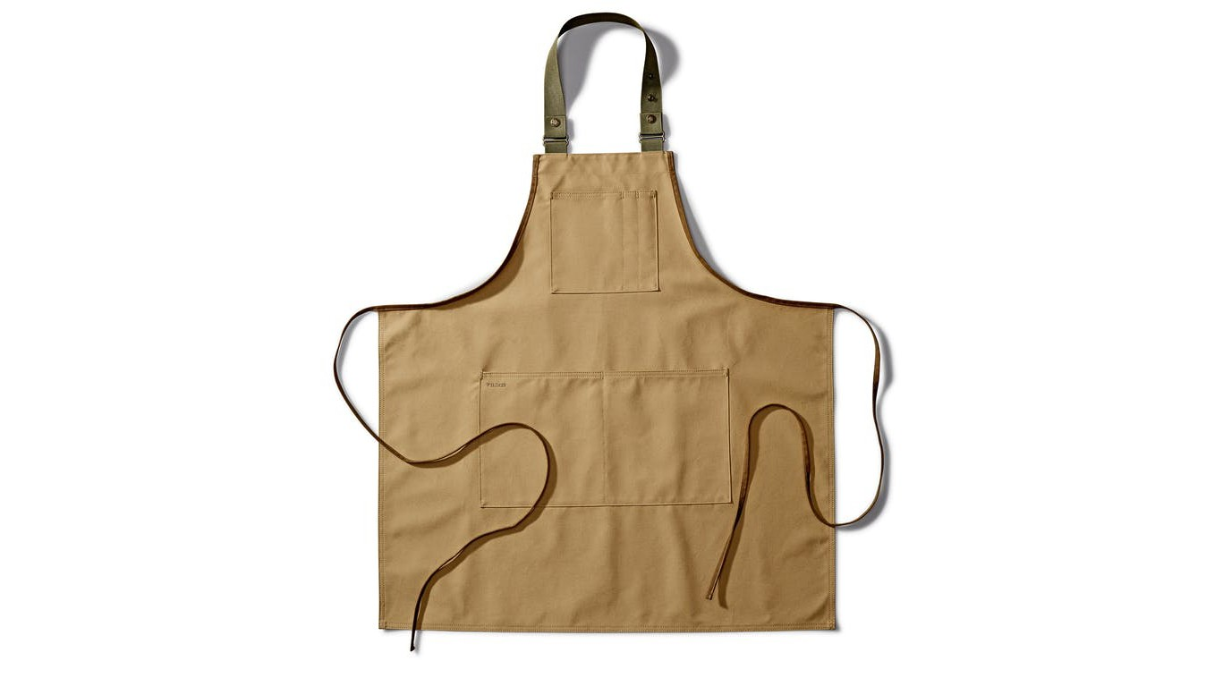 We're found of this simple apron from Filson