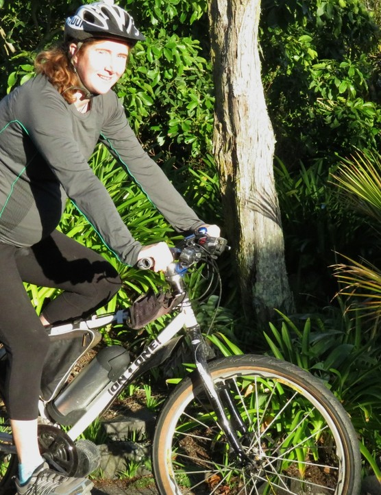 Fiona McBryde found e-bikes a boon for keeping mobile and cycling