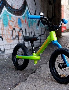 This bike is ready to scoot at full-speed