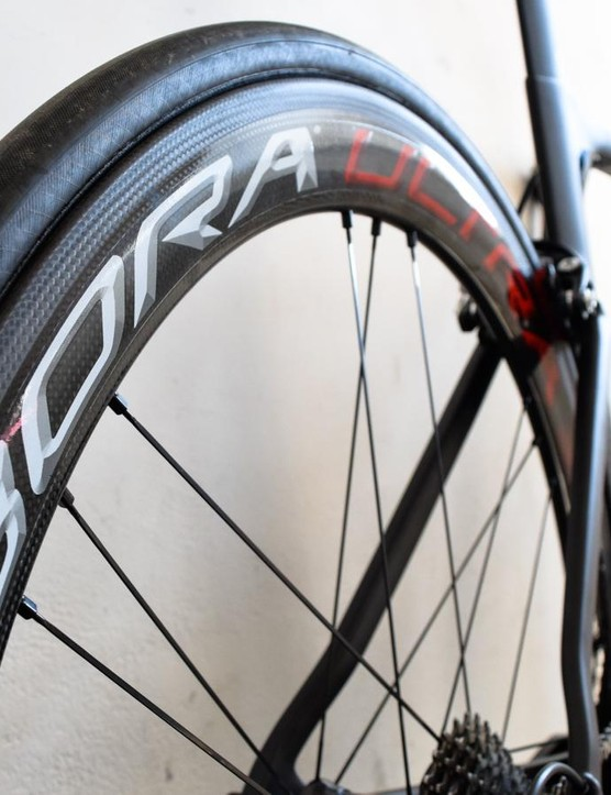 The Bora Ultra 50s are a striking set of wheels