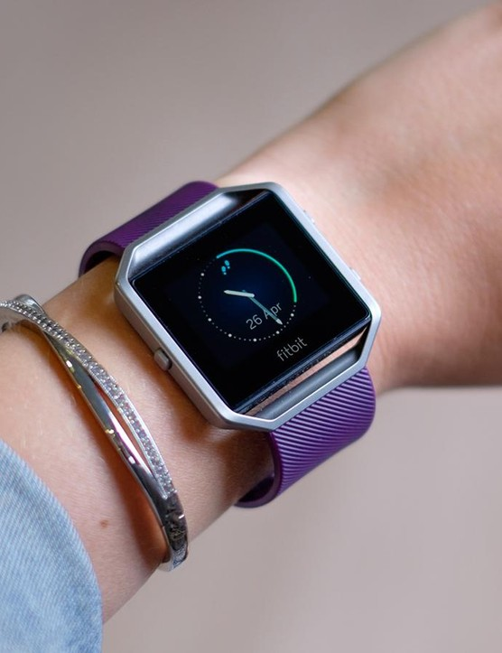 Fitbit's Blaze, with its switchable straps and accessories, is one of the more fashiony trackers out there