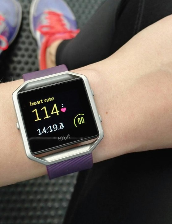 Heart-rate tracking proved a little flaky