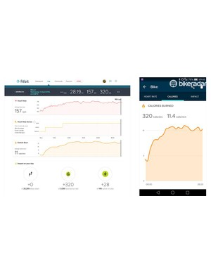 For a basic post-workout overview of time spent in each heart rate zone, plus continual monitoring of your resting heart rate to see how your fitness has improved over time, the Blaze has you covered