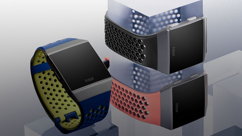 """The straps are interchangeable. Here is the perforated """"Sport"""" strap"""