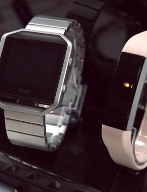 The Fitbit Blaze (left) and Alta both come with interchangeable straps