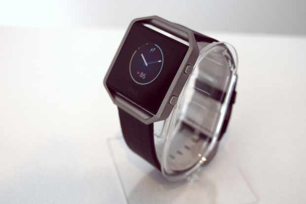 The new Fitbit Blaze with heart-rate monitor, heart-rate zone monitoring and activity settings including cycling and spin