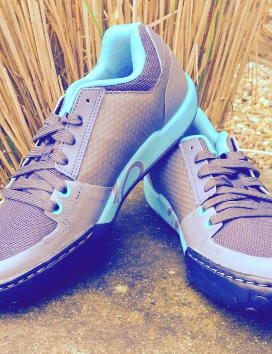 The FiveTen Freerider Contact women's shoe is available in smaller sizes than the men's version.