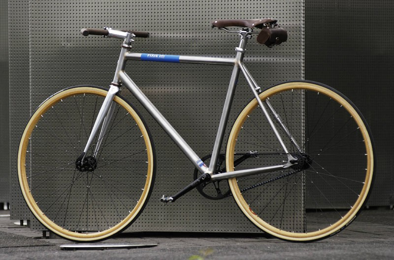The Five Star singlespeed bike from Fixie Inc won the award in the best Cruiser/Design bike category