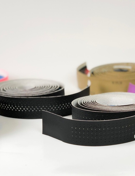 Vibrant and muted colours feature in Fizik's new range of bar tapes