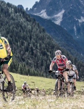 The Dolomiti Superbike is set in some of the most beautiful Alpine scenery in Europe