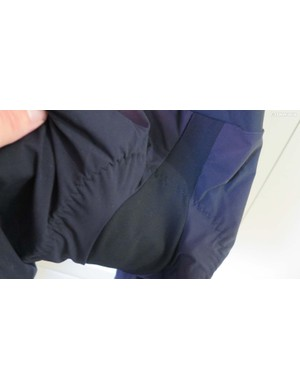 …and also uses a woven, more breathable fabric in this 'sensitive' area
