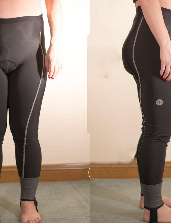 A comfortable chamois was a major plus-point for these leggings