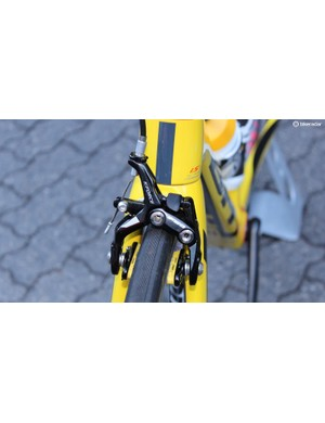 FSA's top-end K-Force caliper was designed for wide rims