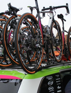 Switching to disc brakes means a complete overhaul of a team's system