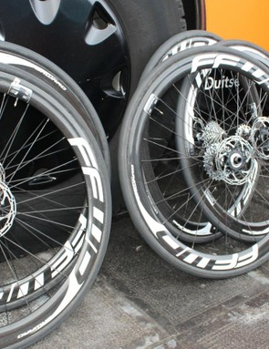 Pro teams will be sitting on their disc wheels for a while now...