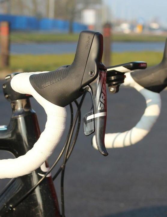 For newer riders, the simplicity of a single lever could make sense. There are no gear ratios to think about, just shifting to make it easier or harder