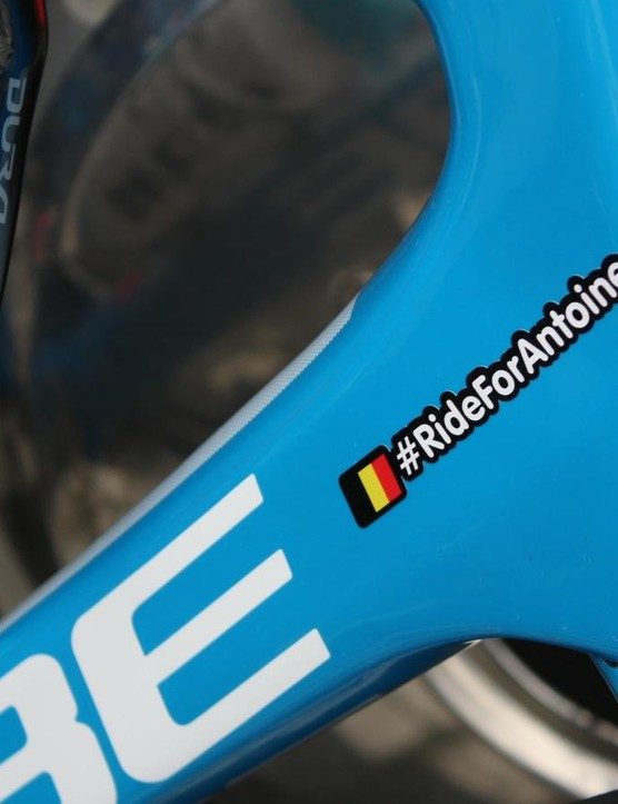 Wanty-Groupe Gobert rode the Tour of Flanders in memory of their late teammate Antoine Demoitié