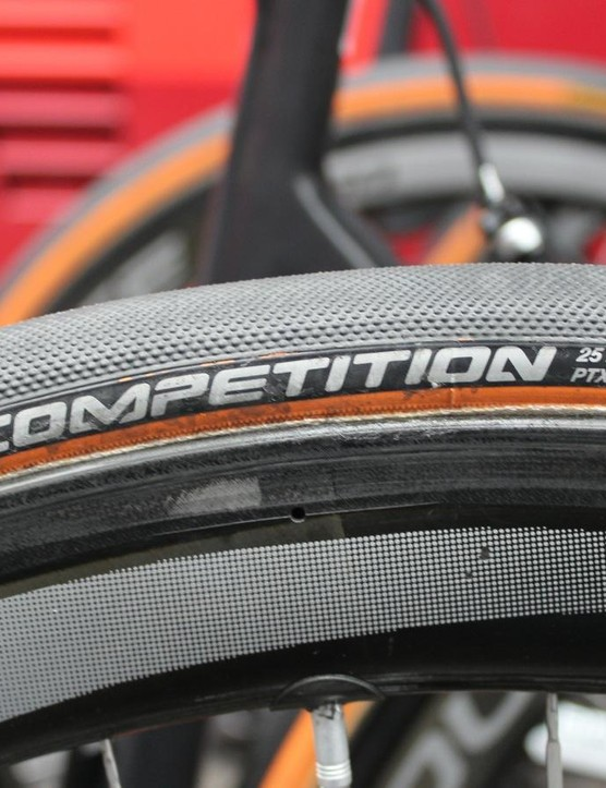 Continental is the most-used tubular in the pro peloton now, with 10 Flanders teams aboard the German brand's rubber