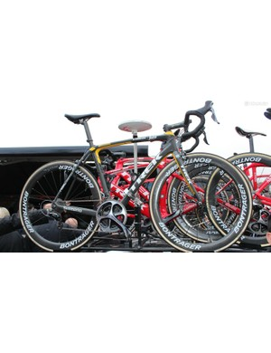 One of Fabian Cancellara's Domanes SLR for the Tour of Flanders