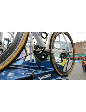 Shimano is happy to help Look riders, too