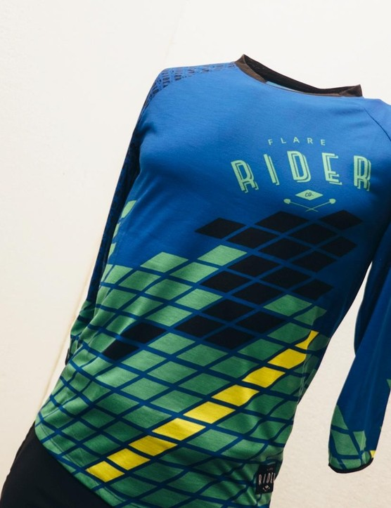 Flare's new Stage Enduro jersey
