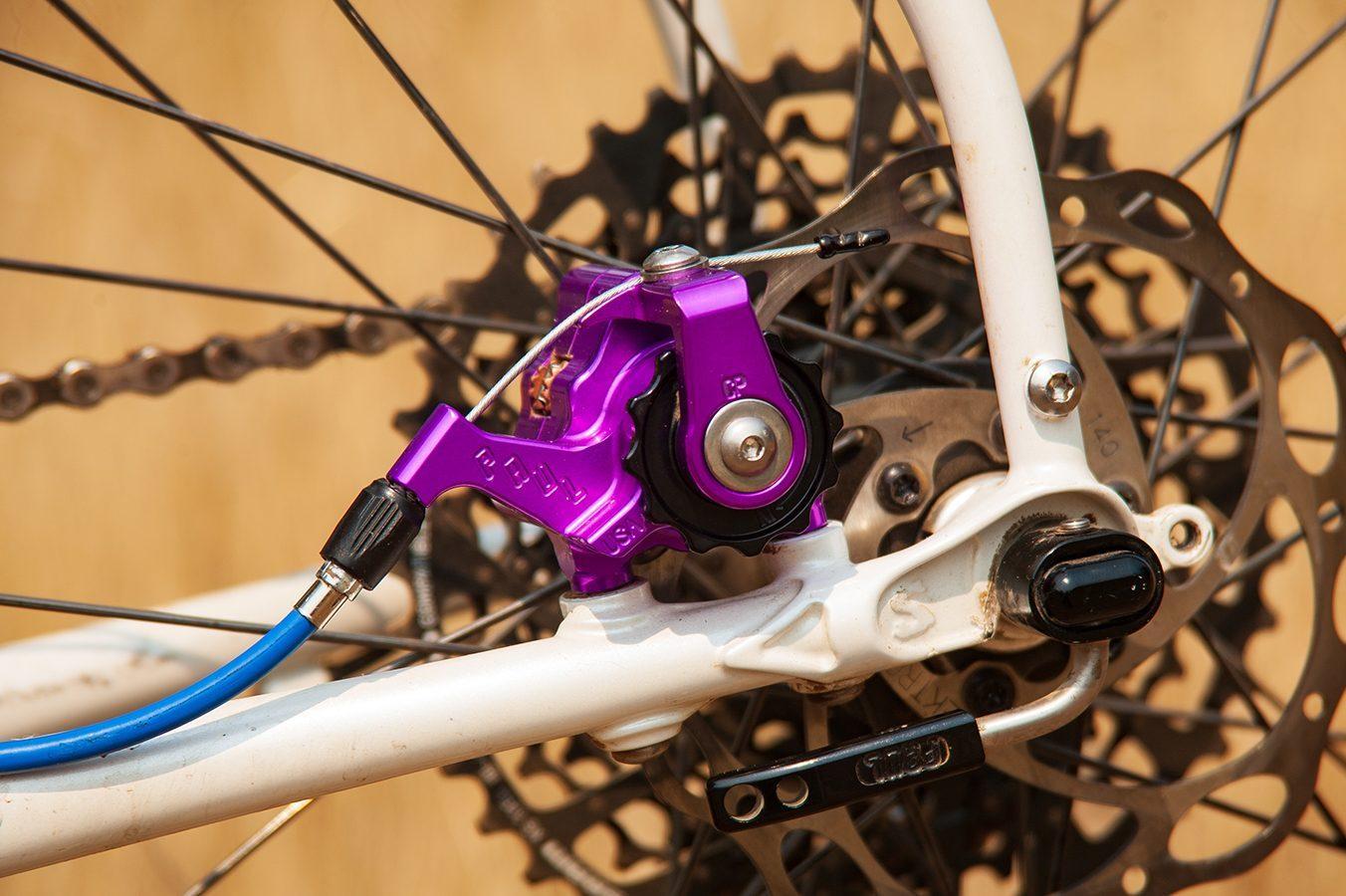 Paul Component Engineering Klamper Disc Caliper Short Pull Purple