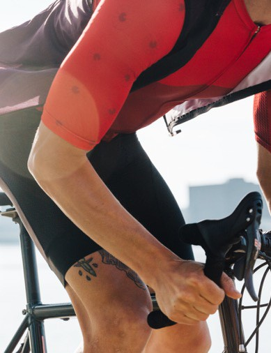 As well as jerseys, IRIS boasts vests, bib shorts and various accessories