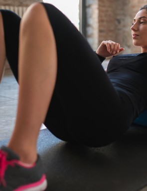 Here's how you can use a foam roller to stretch out your muscles after a ride