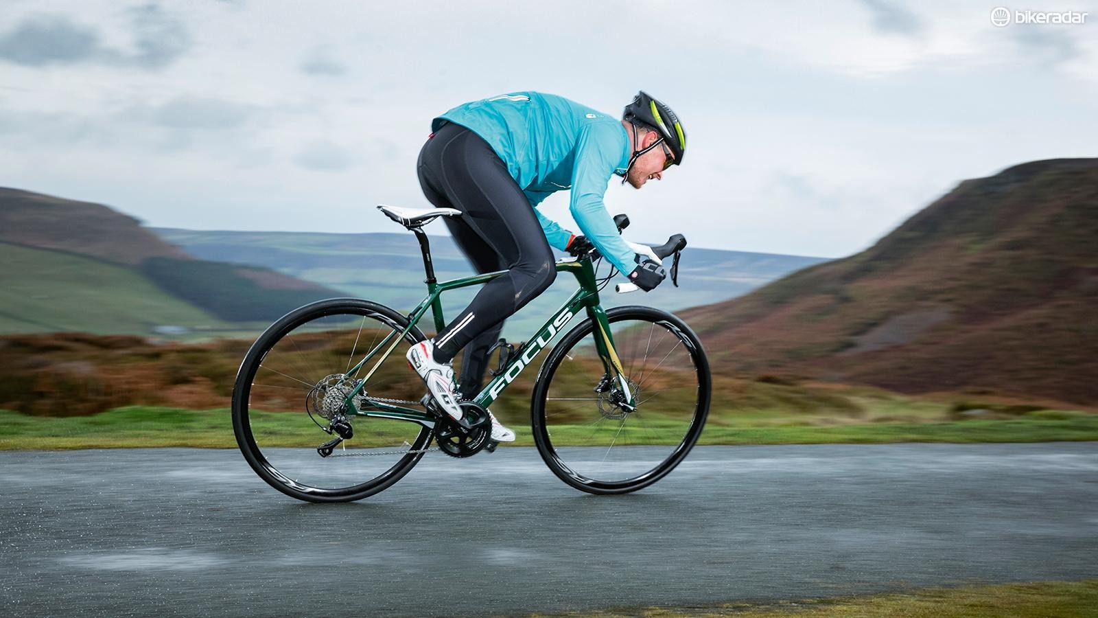 The Paralane Carbon 105 is well suited to putting in big miles