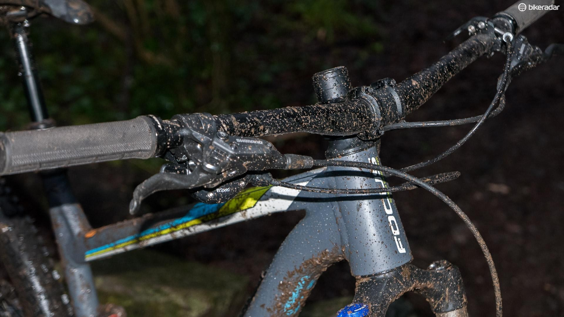 Progressive geometry and a modern cockpit mean the Vice really delivers the goods out on the trail