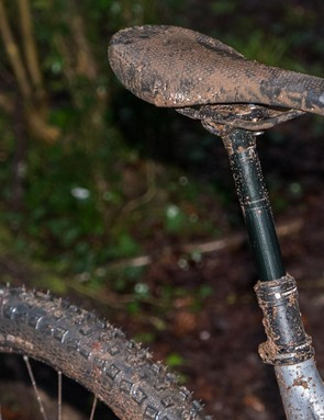 An own brand Concept dropper post gives 125mm of travel