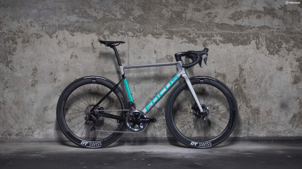 The new Izalco Max range is topped by this Dura-Ace Di2-equipped 9.9 at £7,899