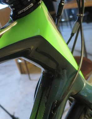 You can see the influence of other Focus models –including the Raven hardtail MTB –in the Paralane's tube shapes